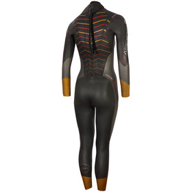 Zone3 Thermal Aspire Combinaison Femme, black/grey/gold/red